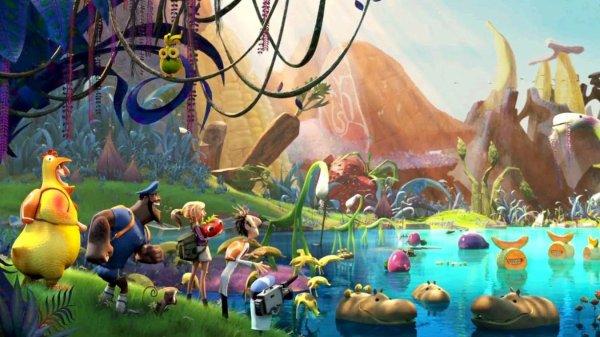 L'île des Miam-nimaux : Tempête de boulettes géantes 2 ; réalisés par Cody Cameron et Kris Pearn