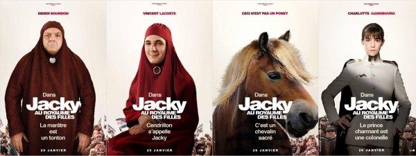 Jacky au royaume des filles ; réalisé par Riad Sattouf