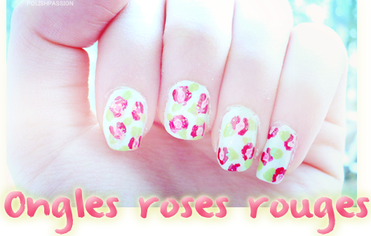 ONGLES ROSES ROUGES