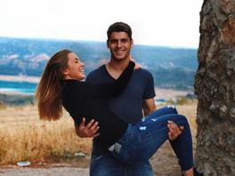 Alvaro Morata et sa femme
