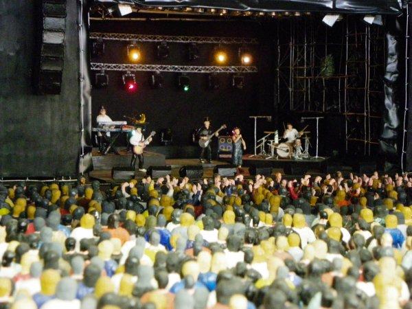 Concert miniaturisé !