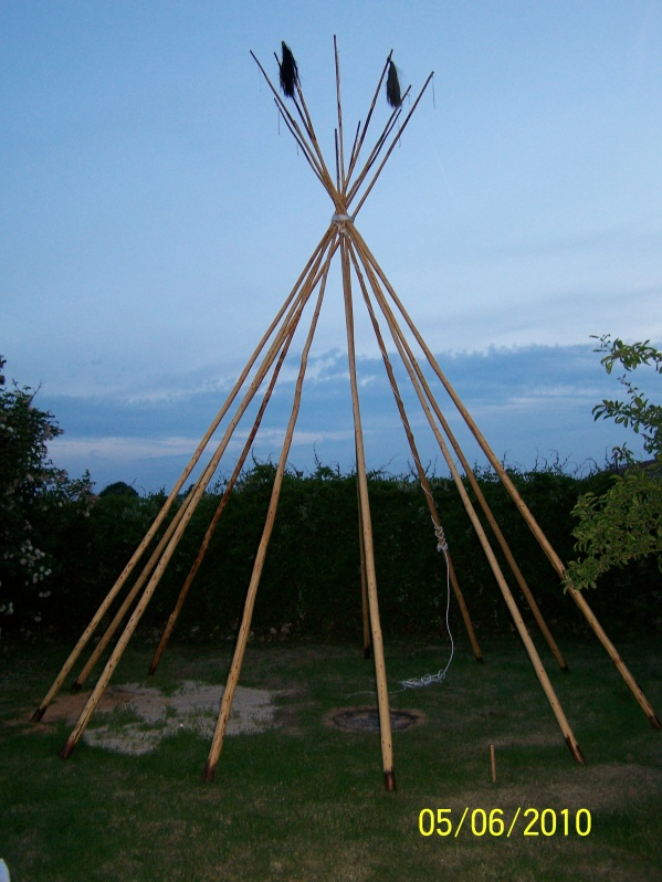 Tipi 9 blog de chaman28 - Fabriquer un tipi indien ...