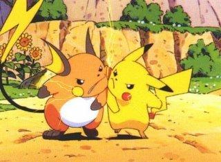 Pikachu Ou Raichu
