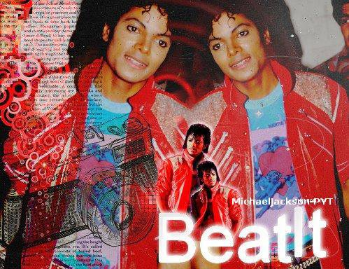 Just beat it, just beat it... ♫ ♪