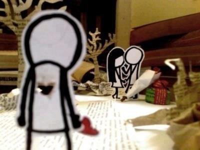 """"""" L'amour c'est ce qui peut arriver de mieux dans la vie d'une personne, mais c'est aussi ce qui peut arriver de pire..."""""""