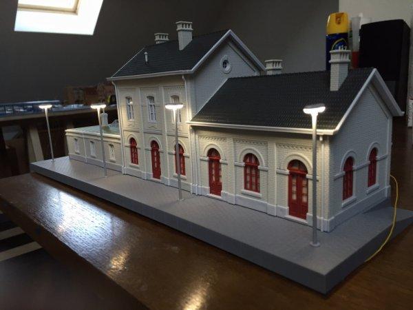 La nouvelle gare