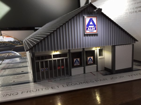 Supermarché Aldi (en construction)
