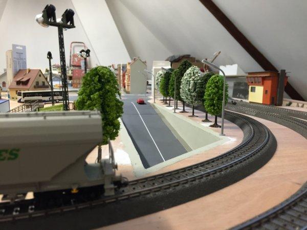 Le tunnel sous la voie ferrée