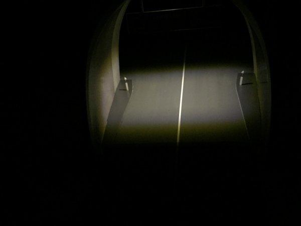 Entrée de tunnel... La nuit !