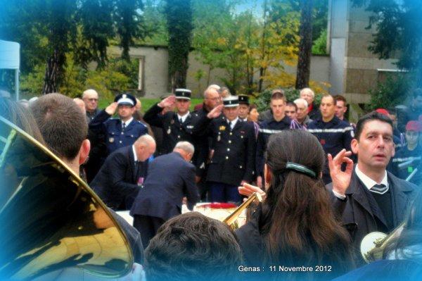 Cérémonie 11 Novembre 2012