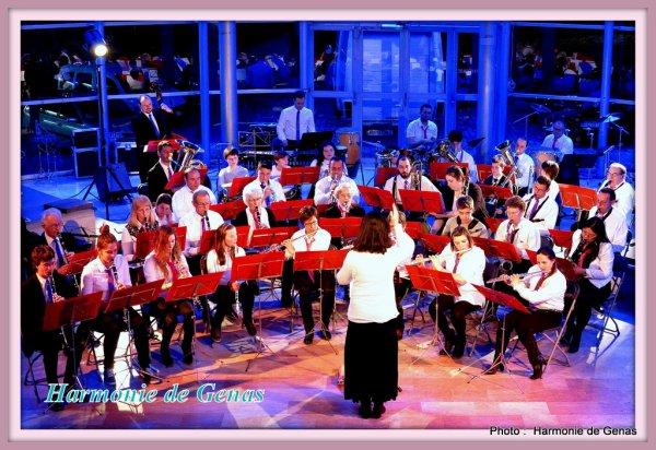 Concert - Harmonies Genas et Saint Fons