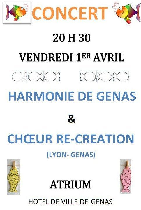 Concert 1 er Avril
