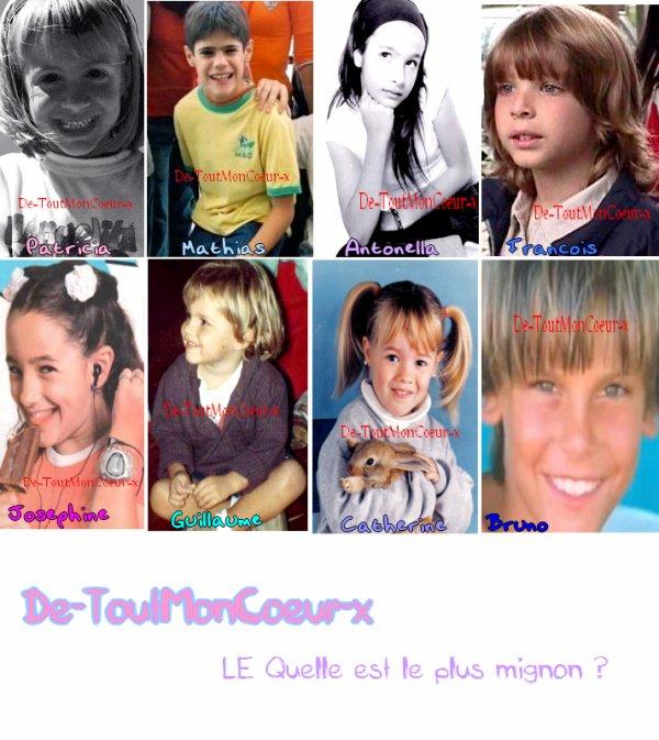 Les Acteurs Petit ^^