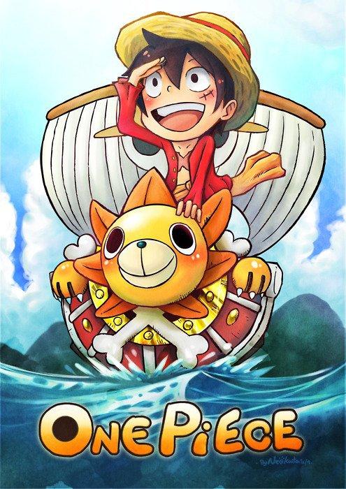 One Piece un jour One Piece toujours!!!!!