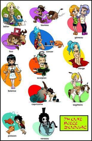 Horoscope de One Piece .