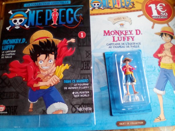 Figurines One Piece en France chez les marchands de journaux !