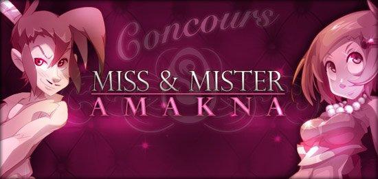 Miss et Mister ankama !