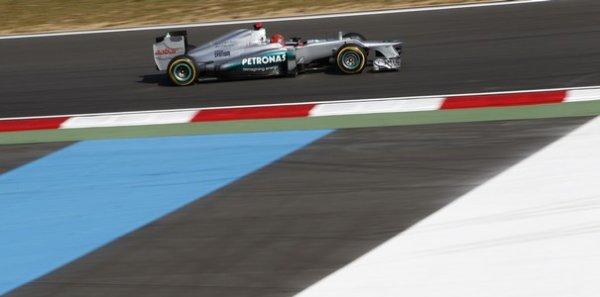 Mercedes reçoit une amende