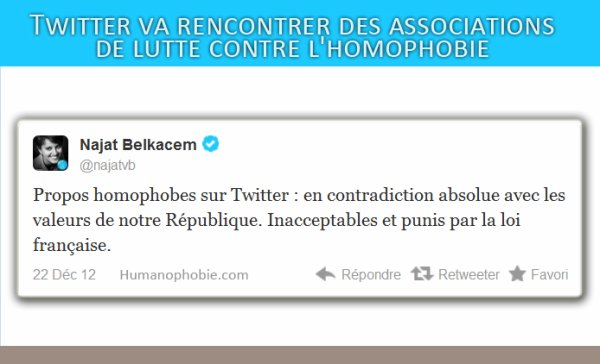 #SiMonFilsEstGay: Twitter va rencontrer des associations de lutte contre l'homophobie