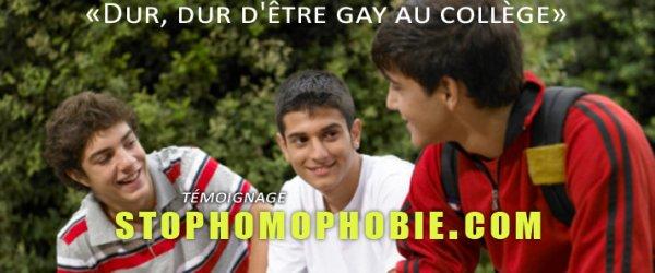 Témoignage : Alvin, 15 ans «Dur, dur d'être gay au collège»