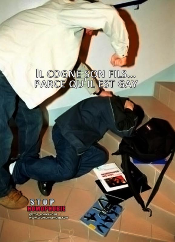 REIMS (Marne) : Il cogne son fils… parce qu'il est gay !