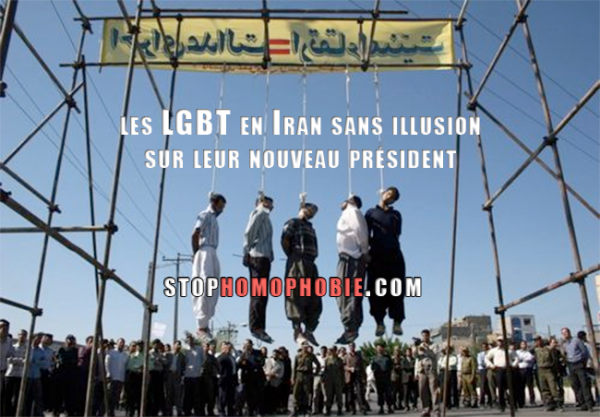 Téhéran : Gays iraniens sans illusions sur leur nouveau président