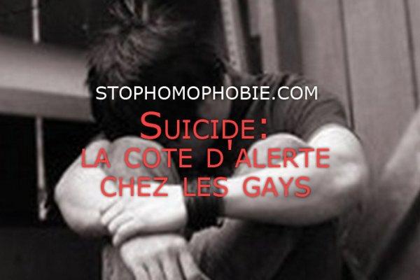 Suicide: la cote d'alerte chez les gays