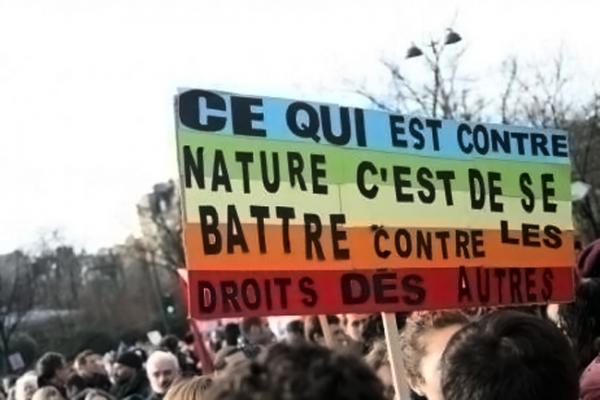 Appel à l'Opposition et à la Contre Manifestation de tous ceux et celles qui en ont marre de voir des rassemblements d'homophobes français nous faire honte dans la rue !