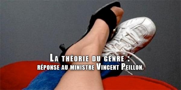 La théorie du genre : réponse au ministre Vincent Peillon