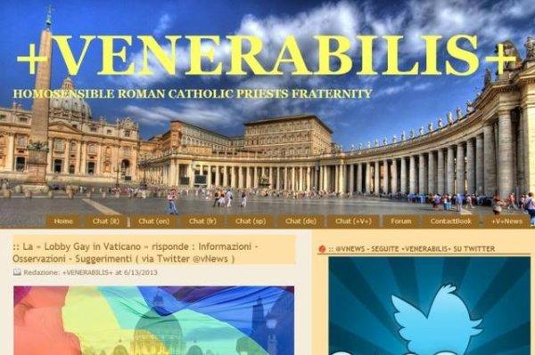Venerabilis : le site internet pour les prêtres catholiques homosexuels