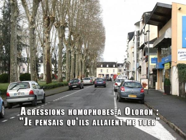Agressions homophobes à Oloron : « Je pensais qu'ils allaient me tuer »