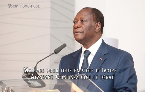 Mariage pour tous en Côte d'Ivoire : Alassane Ouattara clot le débat