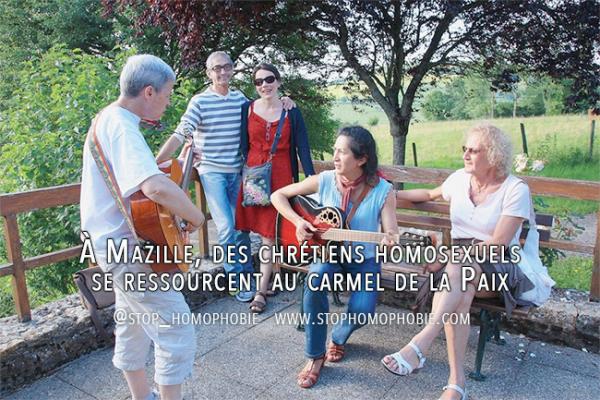 À Mazille, des chrétiens homosexuels se ressourcent au carmel de la Paix