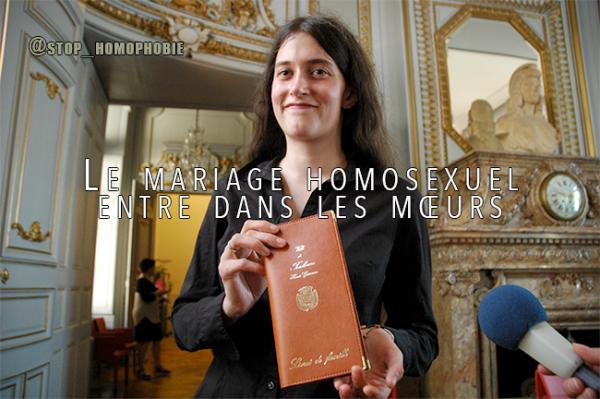 Révolution pour tous : Quand le mariage homosexuel entre dans les m½urs