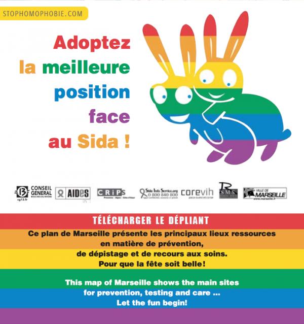 Europride : face au SIDA « Soyez coquins et malins ! »