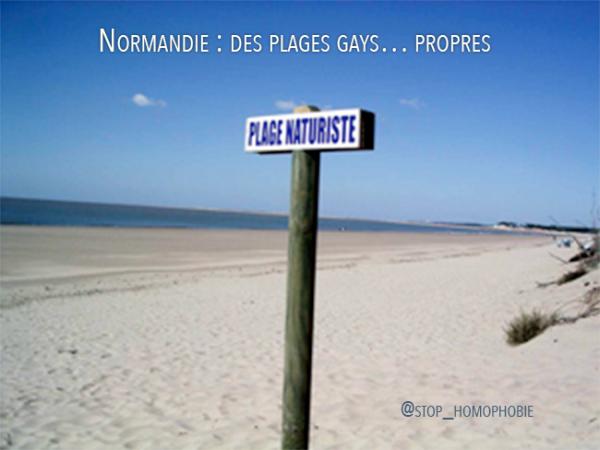 Normandie : des plages gays… propres