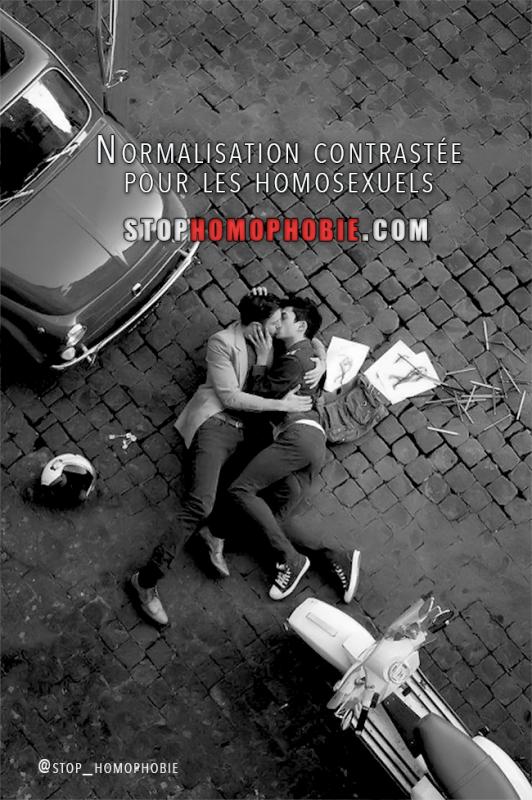 Normalisation contrastée pour les homosexuels