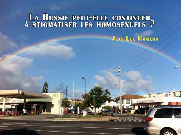 Jean-Luc Romero : La Russie peut-elle continuer à stigmatiser les homosexuels?
