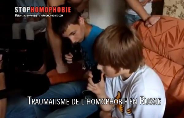 Vidéo – Traumatisme de l'homophobie en Russie : Pourquoi est-il nécessaire de réagir?