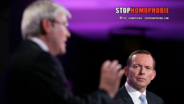 Australie: le mariage gay s'invite dans la campagne électorale