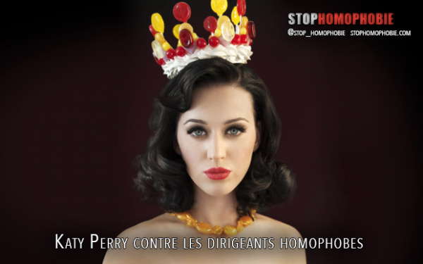 Australie : Katy Perry contre les dirigeants homophobes