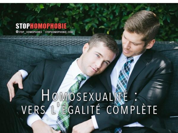 Homosexualité: vers l'égalité complète