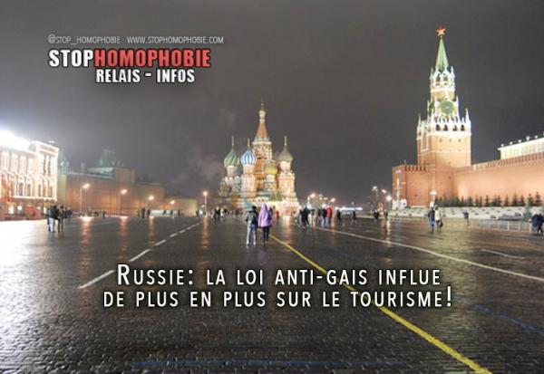 Russie: la loi anti-gais influe de plus en plus sur le tourisme! Le boycott fonctionne…