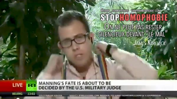 Propagande homosexuelle : un journaliste Américain fustige la loi anti-gay sur une chaîne publique russe