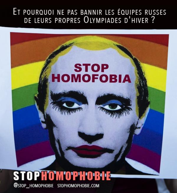 Boycotter? Il faut « bannir » la Russie de ses propres Olympiades d'hiver !
