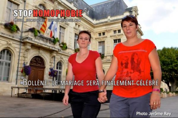 Bollène : le mariage entre Angélique Leroux et Amandine Gilles sera finalement célébré !