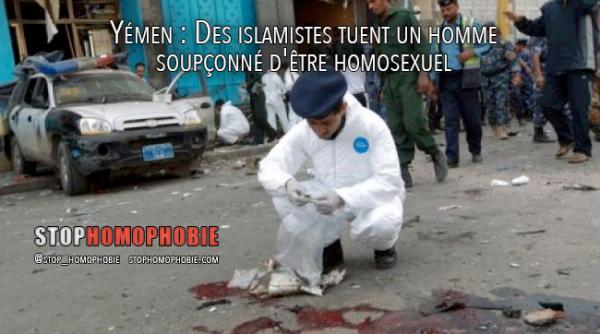 Yémen : Des islamistes tuent un homme soupçonné d'être homosexuel