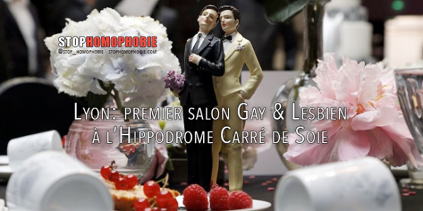 Lyon: premier salon Gay & Lesbien à l'Hippodrome Carré de Soie