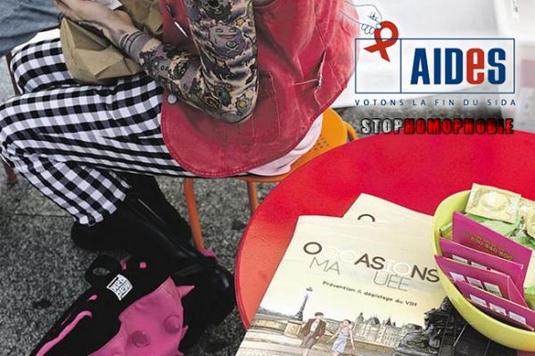 Reportage : Dans le quartier de Château-Rouge, à #Paris, @Aides offre des #tests du #VIH en ciblant les #populations à #risque