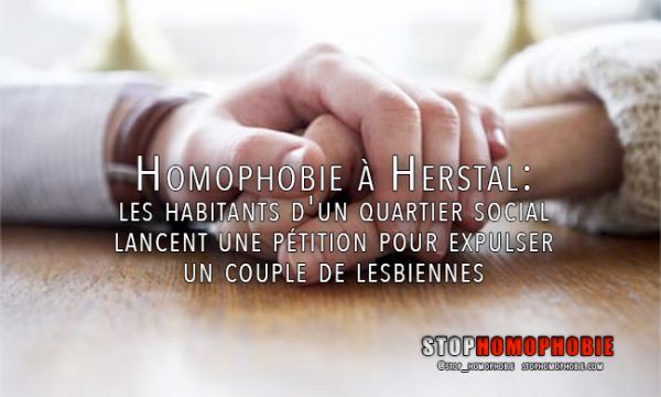 Les habitants d'un quartier social à Herstal lancent une pétition pour #expulser un #couple de #lesbiennes